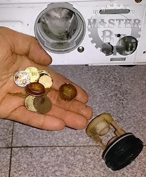 засор в стиральной машин